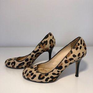 Kate Spade cheetah heels